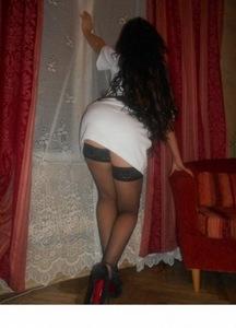 Крепкая задница проститутки